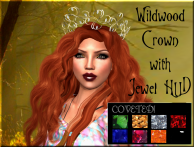 TTS Wildwood Crown in Gold